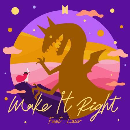 BTS - feat. Lauv - Make It Right